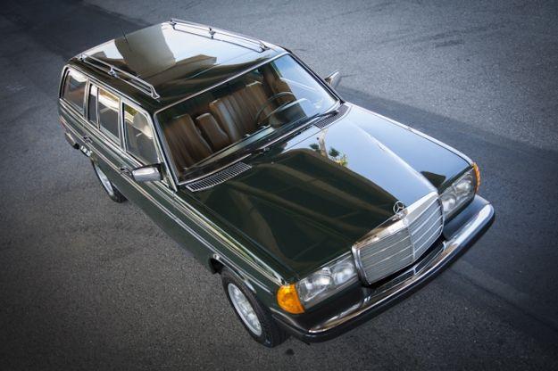 Mercedes Motoring - 1979 300TD Diesel Station Wagon
