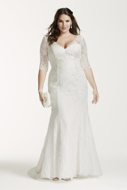 6b5de5baa899 Plus Size Wedding Dresses With Sleeves and Other Plus Size Bridal Gowns