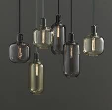 glas lamper