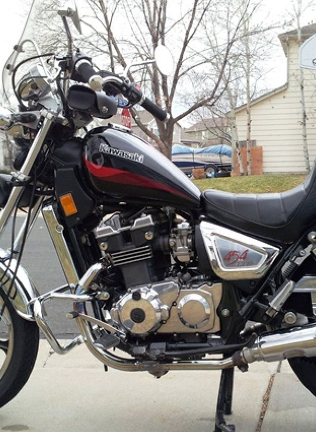 1985 2004 kawasaki en450 454 ltd en500 vulcan 500 motorcycle rh pinterest com 2001 Kawasaki Vulcan 500 ABS 2001 Kawasaki 500 Vulcan Specs