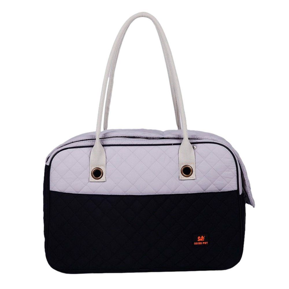 757a04933a Pet Carrier Tote Bag - DODO Pet Carrier Soft Sided Cat Dog Tote Bag Hand bag  Black white Small     Continue to the product at the image link.