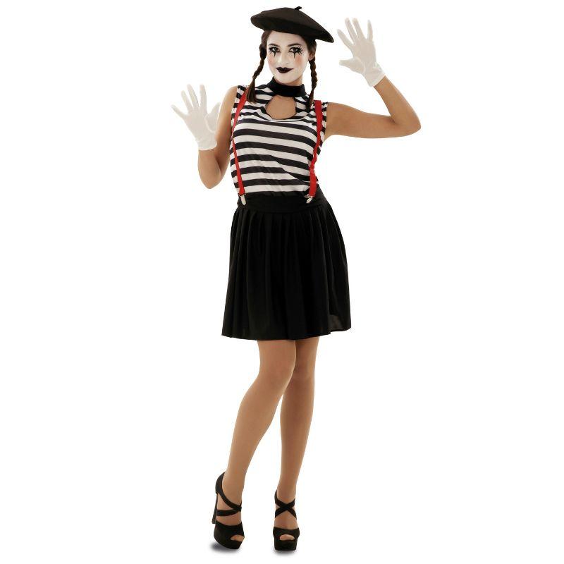Disfraz de mimo para adulto disfraces carnaval - Difraces para carnaval ...