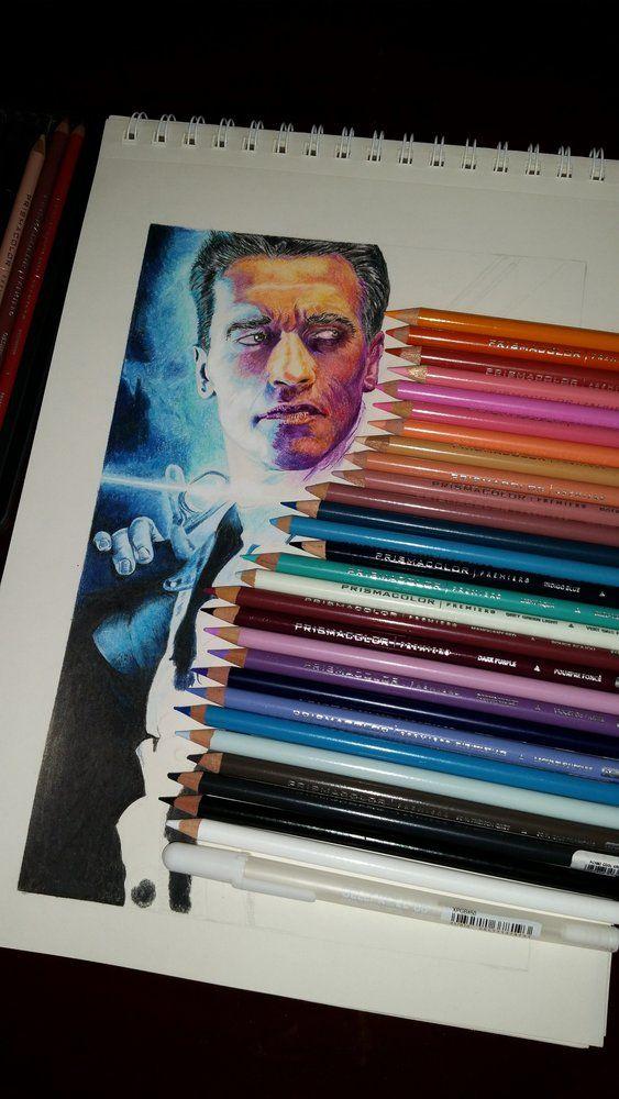 Terminator 2. T800! por luistorres - Cine | Dibujando.net