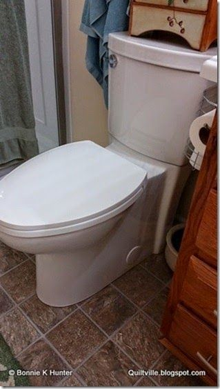 I Like This Tall Toilet Straight Sides So Easier To Clean At The Floor Level Tall Toilets Clutter Toilet