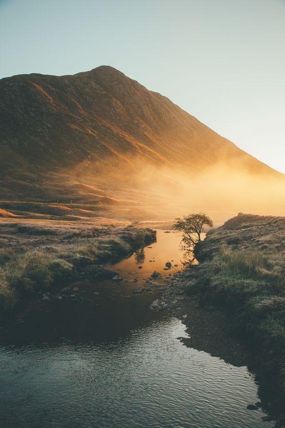 Glen Coe in Scotland.