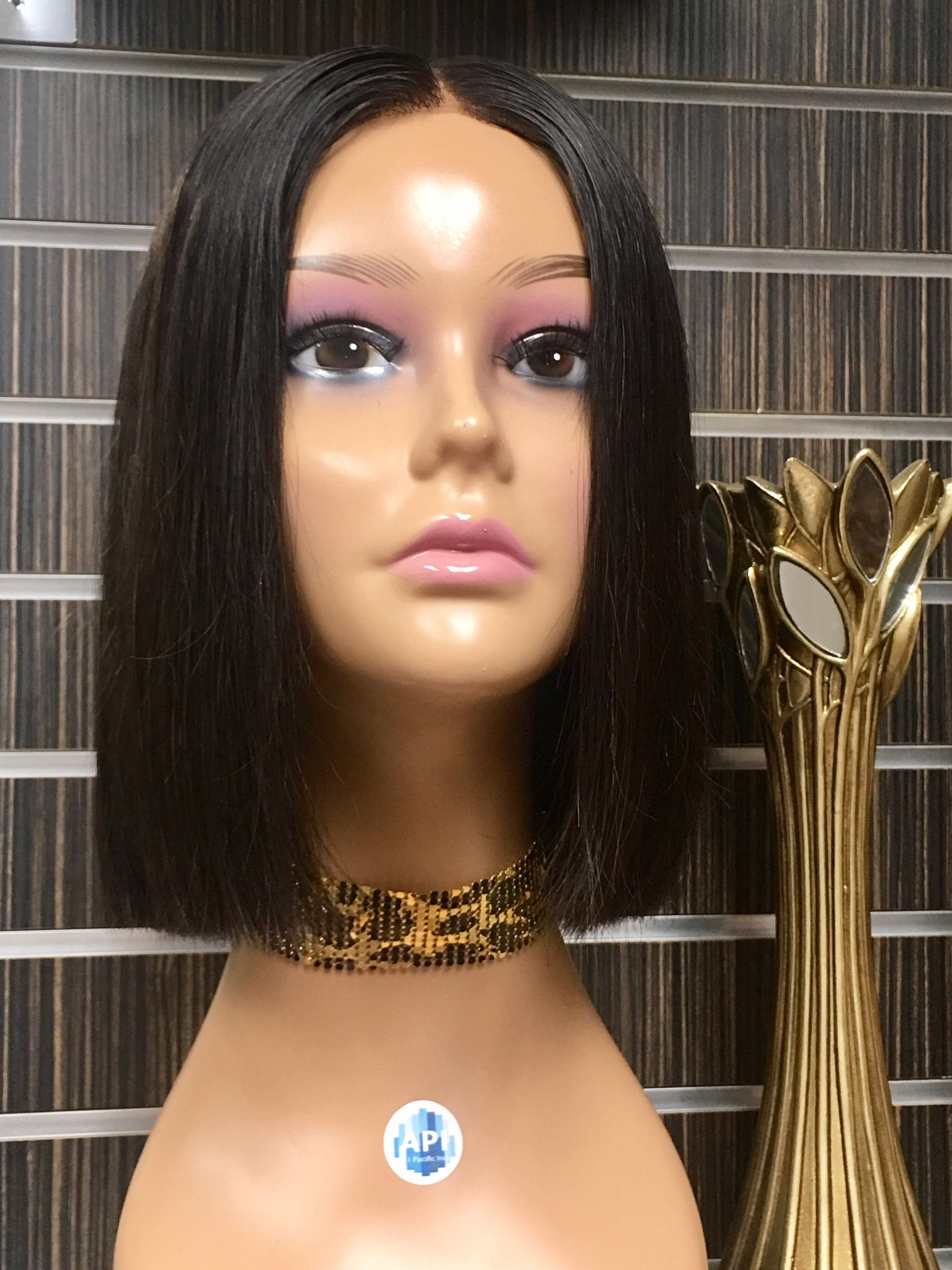 how to cut a lace front wig into a bob