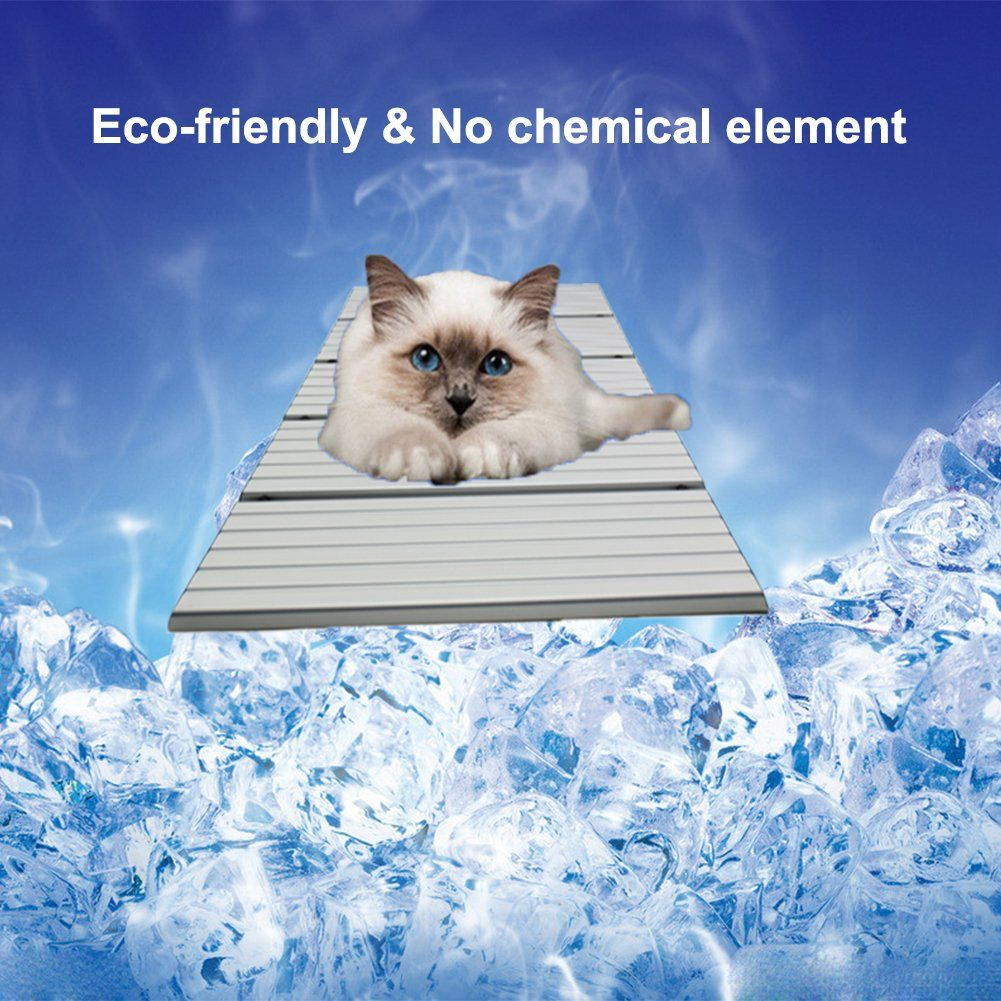 Riogoo Pet Cooling Pad Self Dog Cooling Mat Aluminum Alloy
