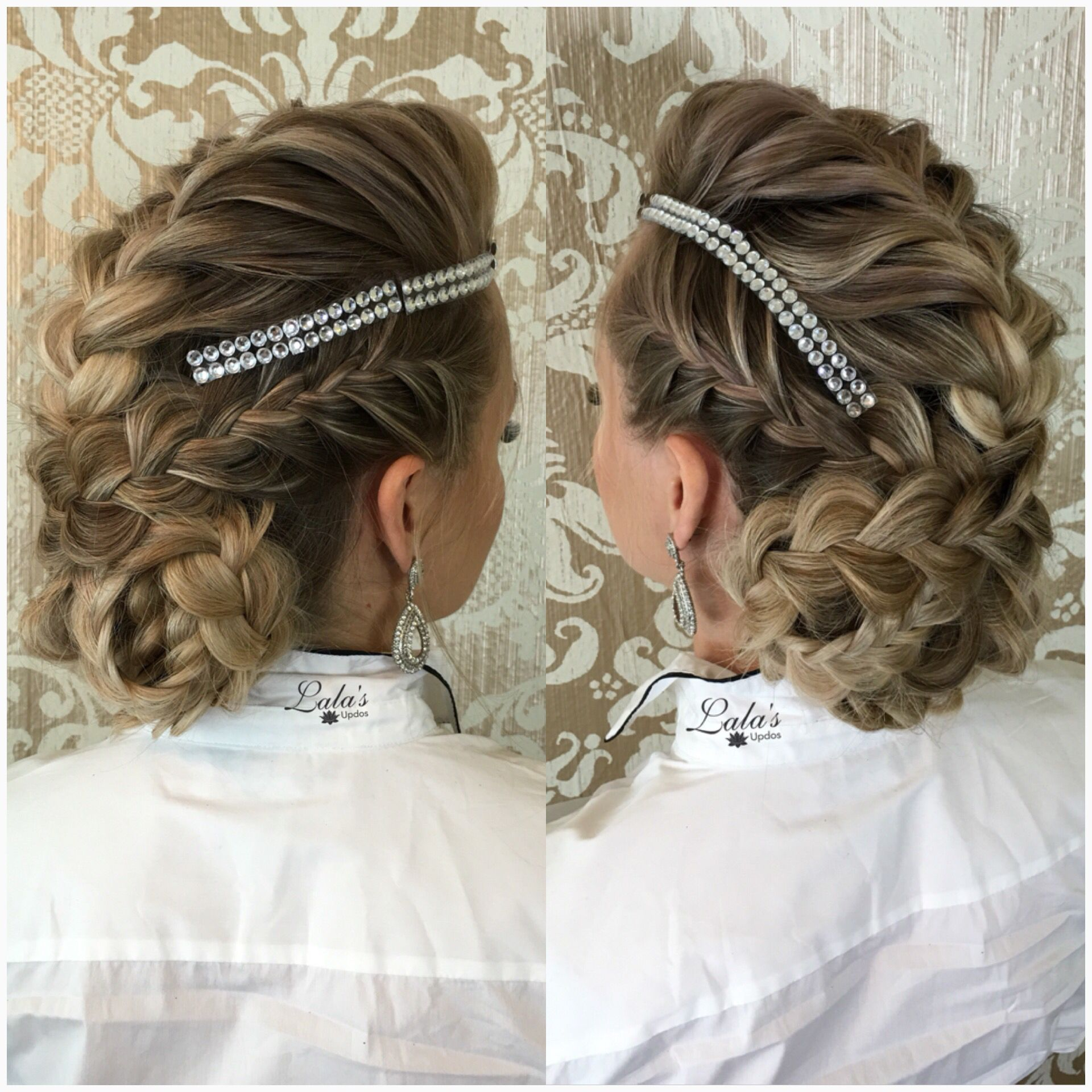 Braided mohawk updo mohawk braids updo homecoming prom