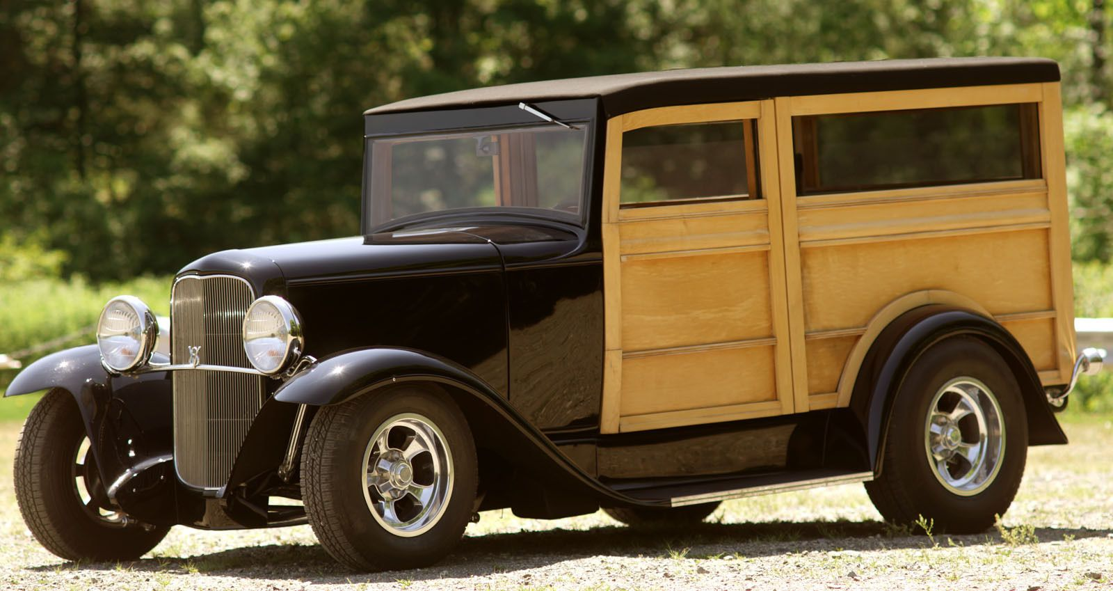 Ford: Model A Henry Ford Steel Woody Beach Wagon Hot Rod | Ford ...