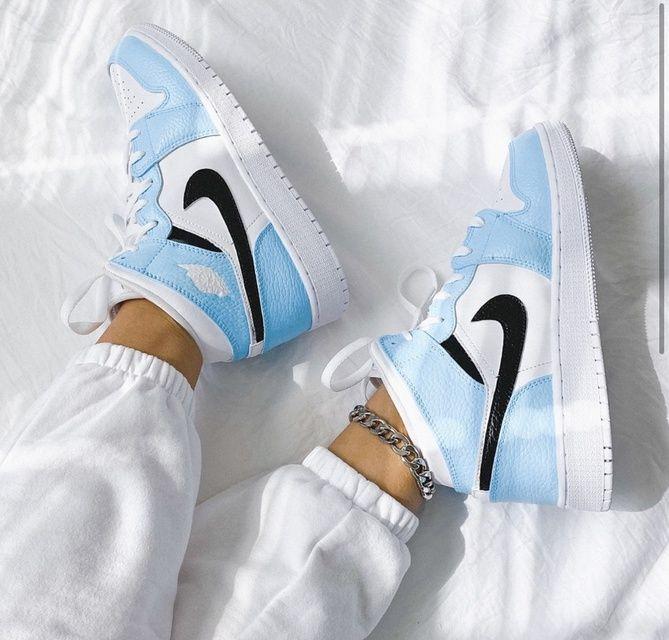 Custom air jordan 1 sneakers