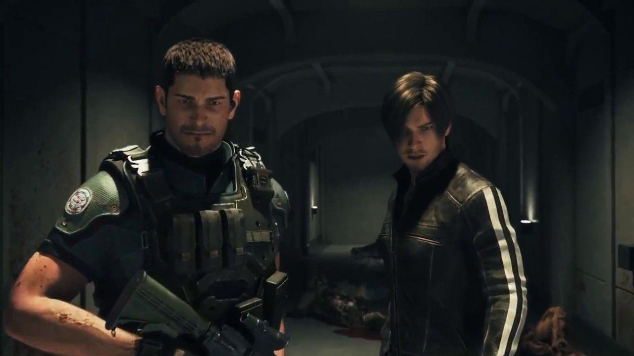 Resident Evil Vendetta Chris and Leon[ John Wick