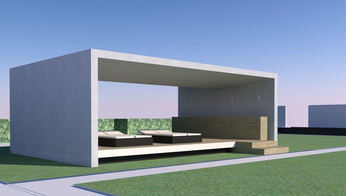 Afbeeldingsresultaat Voor Modern Tuinhuis Met Overkapping