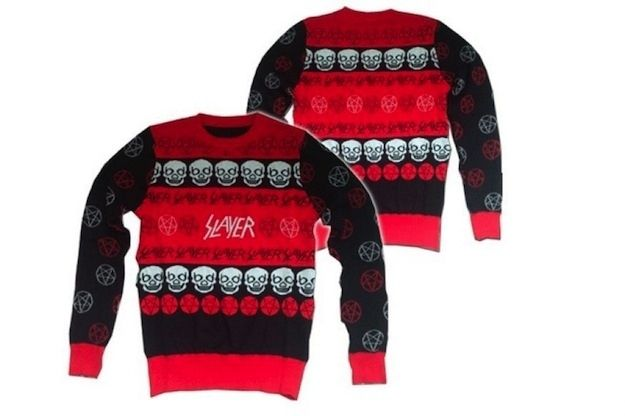 Slayer holiday sweater | Slayer christmas sweater, Christmas