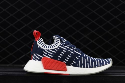 separation shoes 05ce4 782ae Latest adidas NMD R2 PK Navy White-Red BB2909 - Mysecretshoes