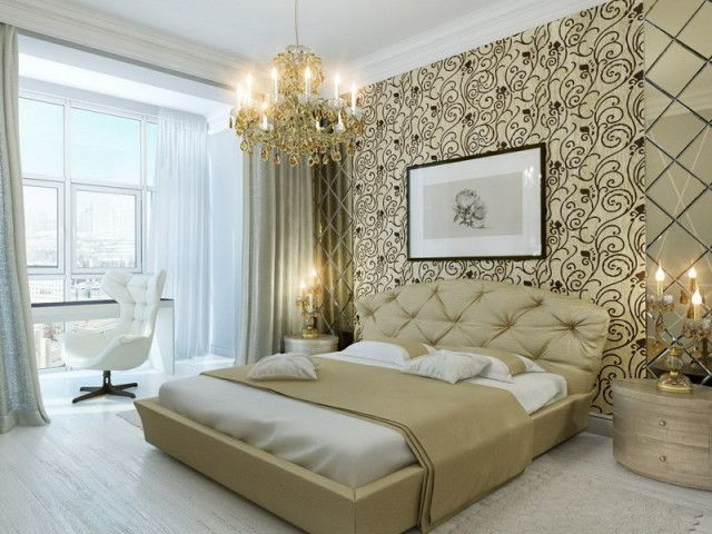 Attraktiv Luxurious Master Bedroom Celebrity Home Interiors Wall Decor Kronleuchter