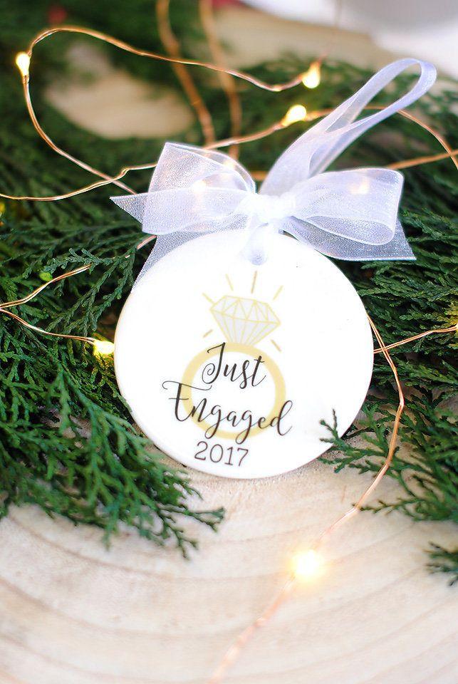 18 Stunning Custom Made Christmas Engagement Ornament Ideas