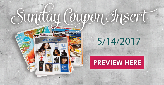 Sunday Coupon Insert Preview 5 14 17 Coupon Inserts Sunday Coupons Print Coupons