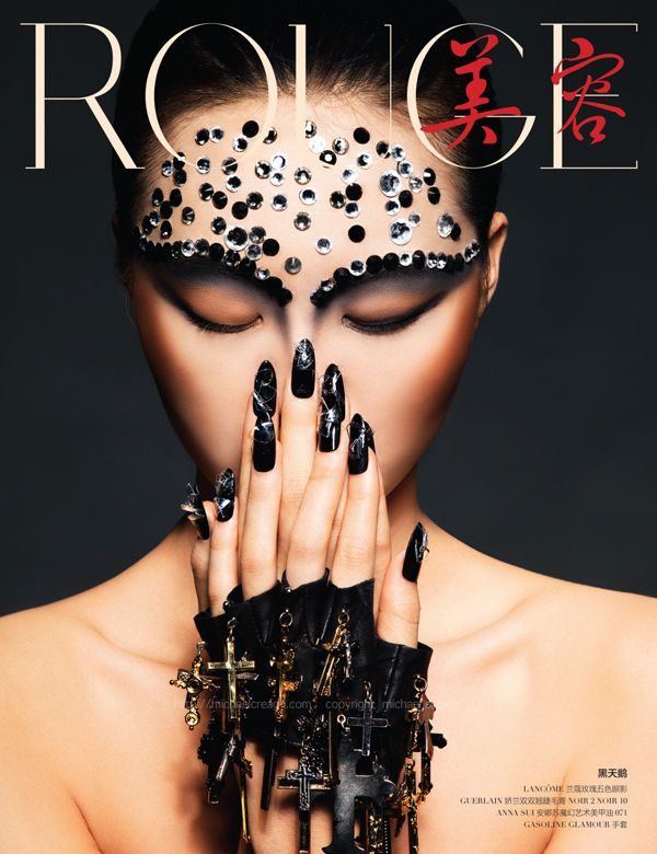 """Dark Fantasy"" by Michael Creagh for Rouge Magazine China"