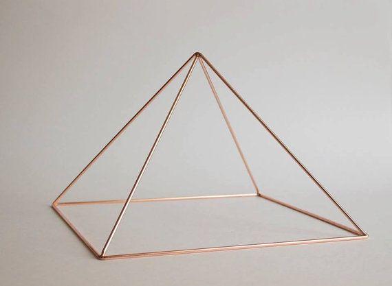 9 Copper Meditation Pyramid Meditation Pyramid by PyramidEnergy