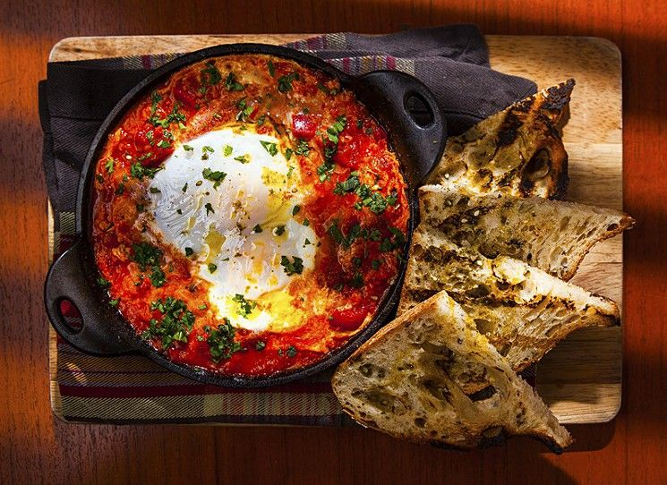 The Five Best Restaurants In Miami To Take Out Of Towners Miami Restaurants Shakshuka Food