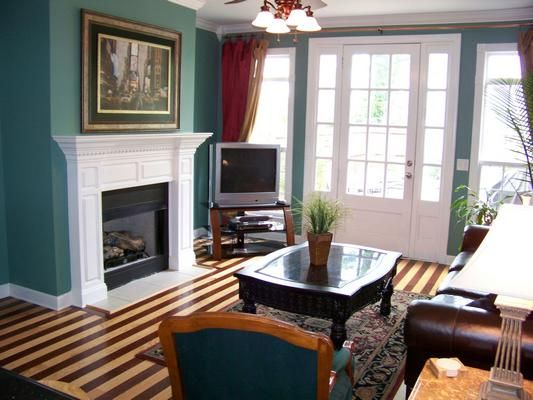 I Love Two Tone Hardwood Flooring Not Exactly Like This But