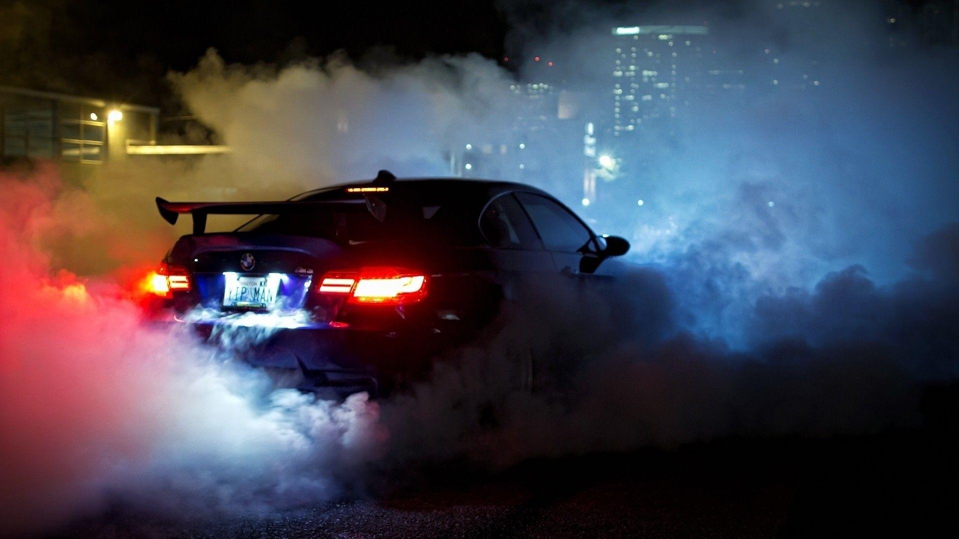 Bmw M3 Bmw Cars Night Smoke Wallpaper Mauvq4hy6r | Cars ...