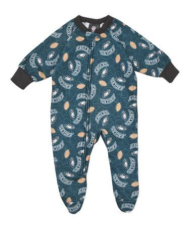 Take a look at this Teal Philadelphia Eagles Footie - Infant & Toddler by NFL on #zulily today!