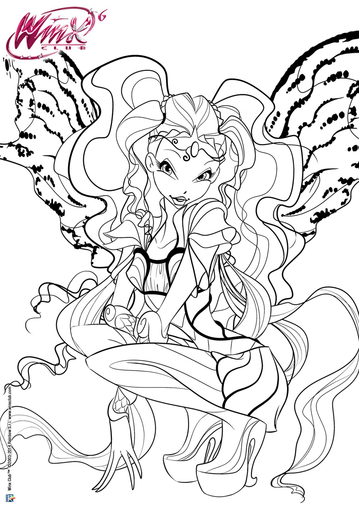 Winx Club Tumblr Fairy Coloring Pages Cartoon Coloring Pages Coloring Pages