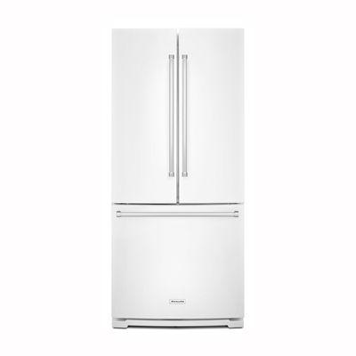 Shop KitchenAid 19.7 Cu Ft 3 Door French Door Refrigerator Single Ice Maker  (