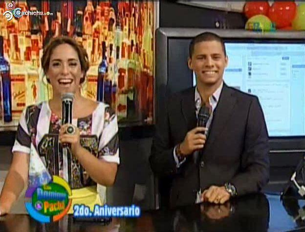 Las Redes Sociales Con @Manny_Peralta En Con @DomingoyPacha @Ramses Paul @ElPachaOficial #Video