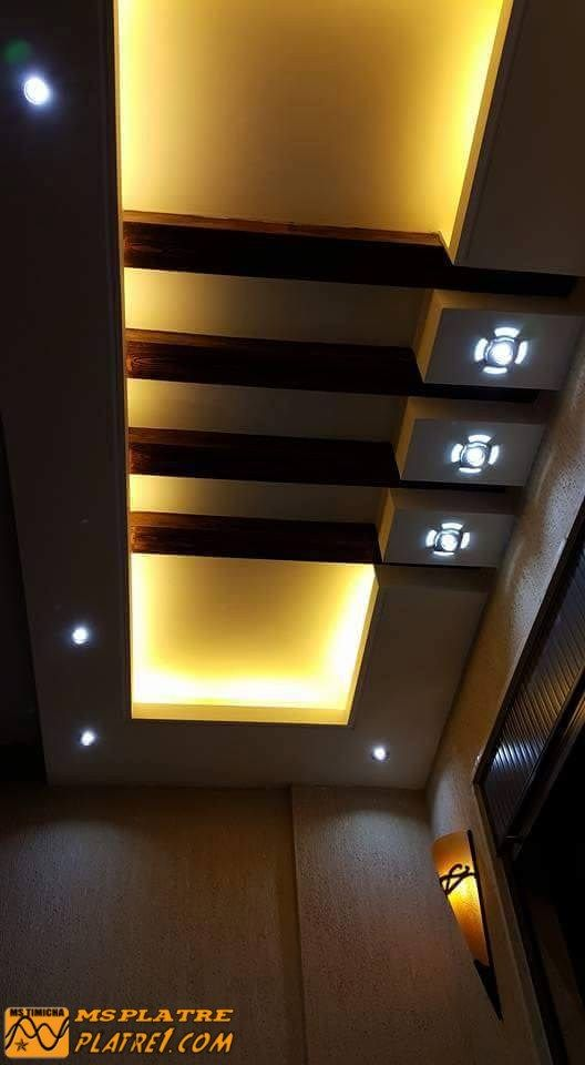 DECOR couloir | aullia | Pinterest | Ceilings, False ceiling ideas ...