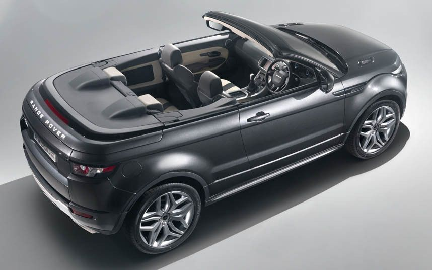 Best 2015 4x4s and SUVs  Range Rover Evoque Convertible  RANGE