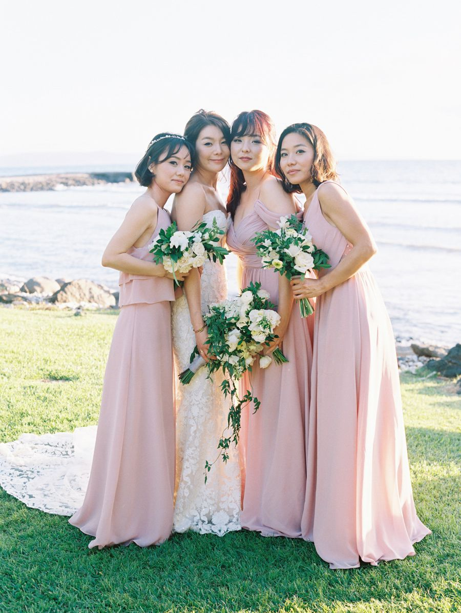 Bridesmaid dress for beach wedding  Destination Weddings  Beautiful TraditionsWe Live for This  Wed