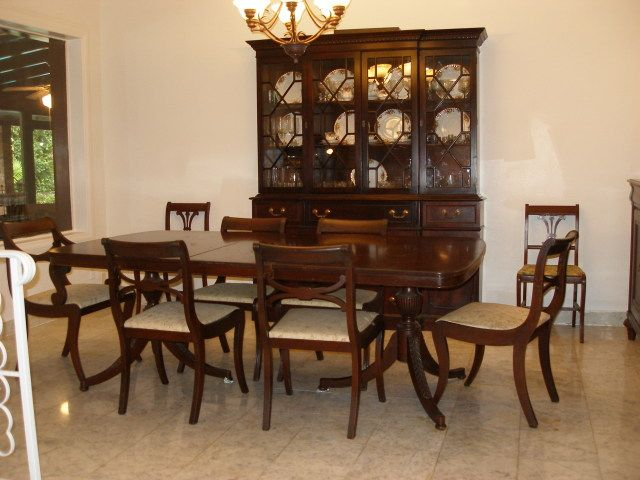 Explore Dining Room Sets Dinning Table And More Later 40s 50s Traditional  Style Mahogany Breakfront And Dinning