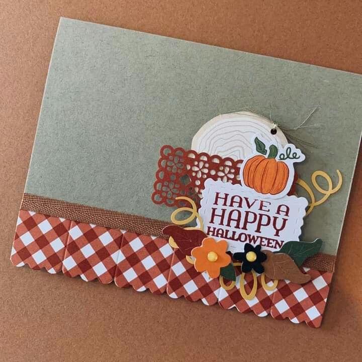 Halloween On Hertel 2020 Pin by Delores Hertel on paper pumpkin in 2020   Pumpkin projects