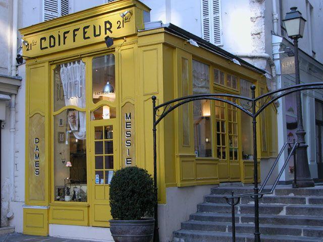 Le Coiffeur Jaune Paris 04 By Philippe 75 Paris French Countryside France