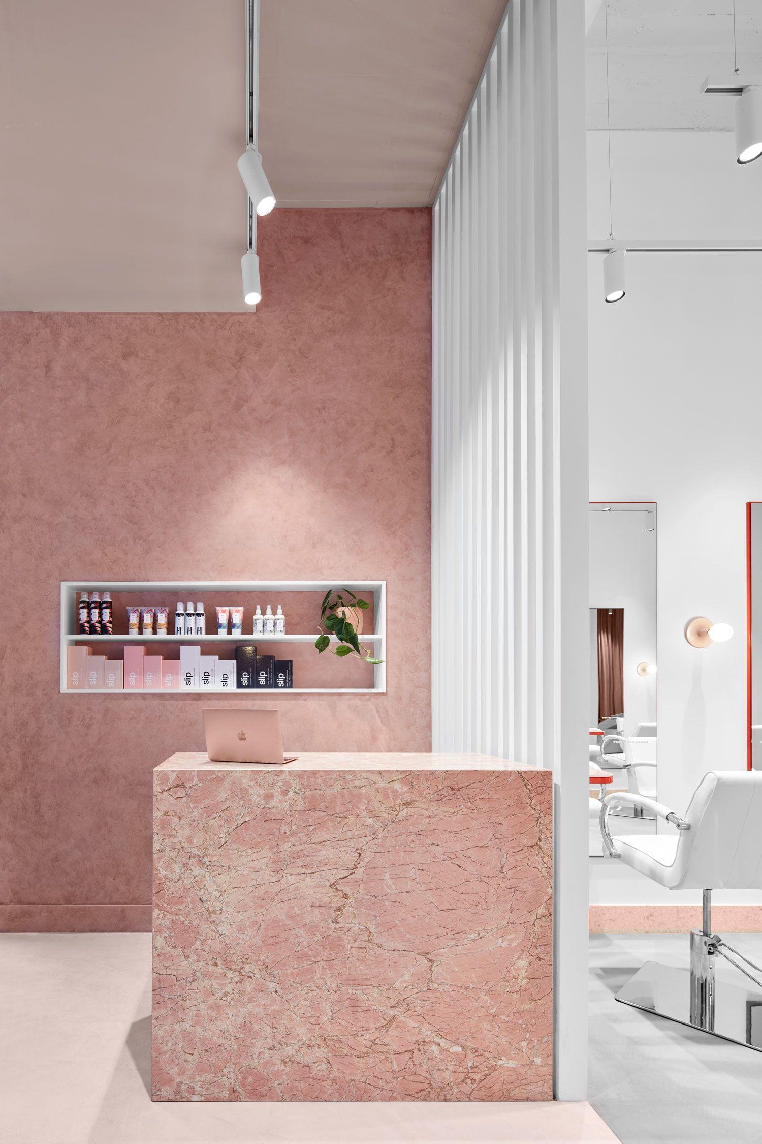 The Blow Australia Hair Salon In Melbourne Cbd By Tecture Nha Cửa Thiết Kế Trang Tri