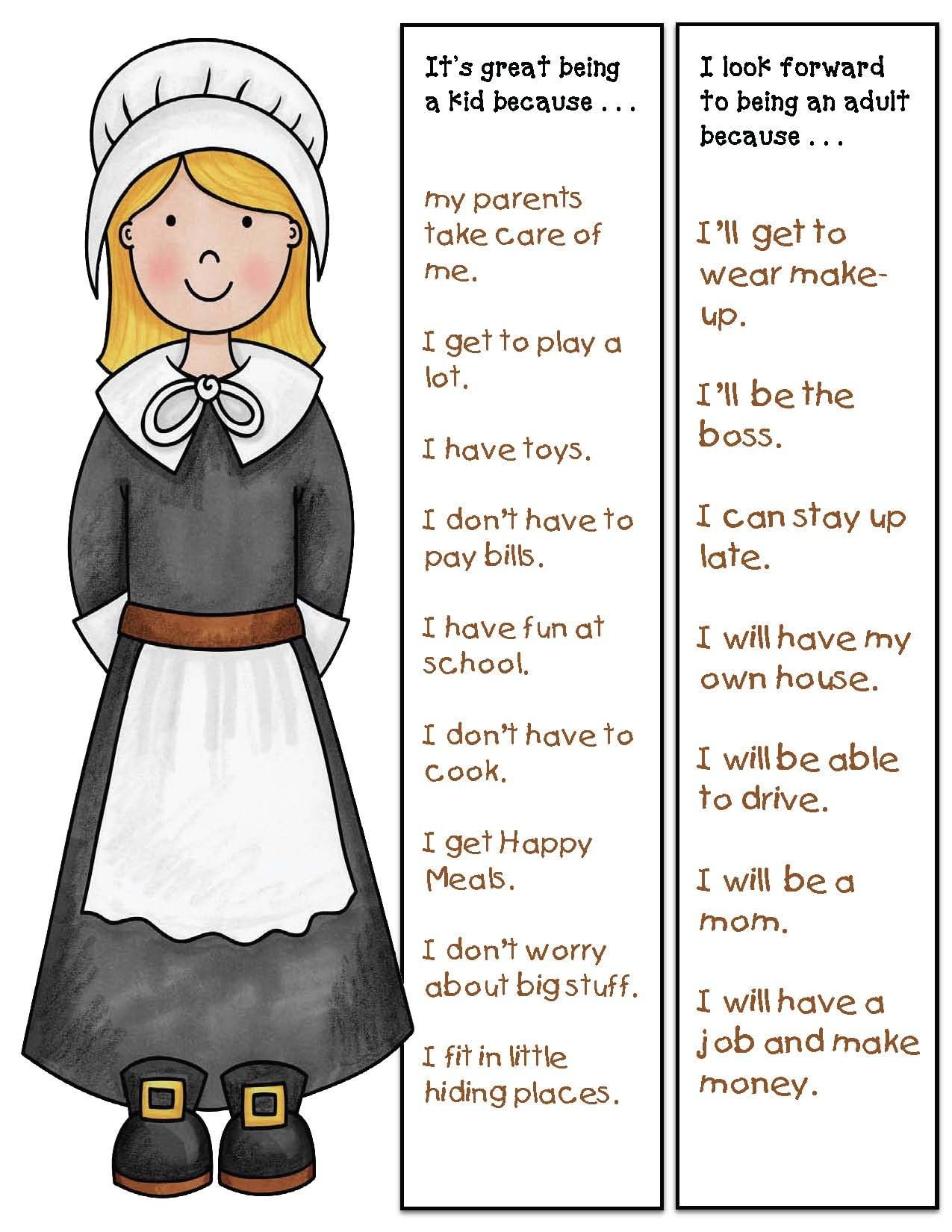 The Littlest Pilgrim Activities