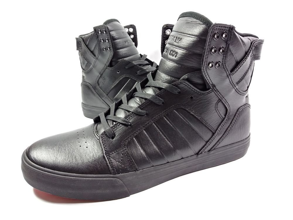 f5d23c277c21 Supra Skytop Skate Shoe Black-red Size 11 US 08003-081-m k16 133 Rare Shoe!   fashion  clothing  shoes  accessories  mensshoes  casualshoes (ebay link)