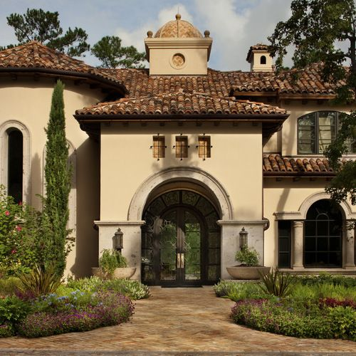 Stucco House Front Door Home Design Ideas, Pictures