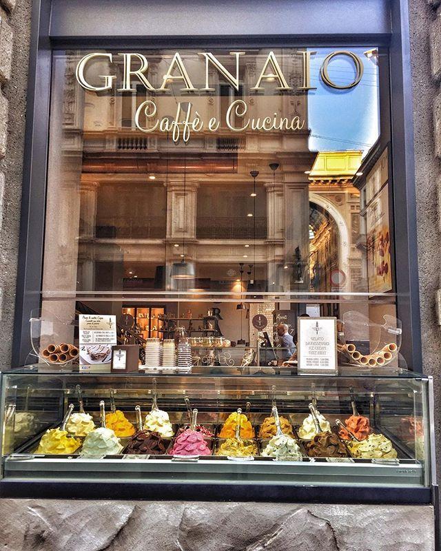 Granaio caff e cucina duomo milan milano italy italianicecream cafe instaphoto instafood - Granaio caffe e cucina ...