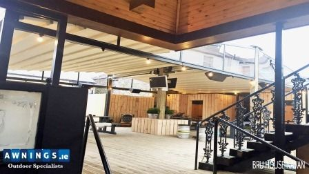Retractable All Year Round Roof Awnings from Awnings.ie ...