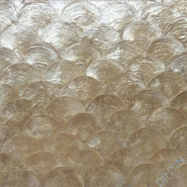 Capiz Shell Wallpaper Shell Tiles Gold Textured Wallpaper Wall Tiles