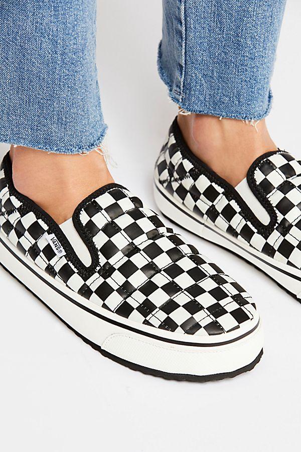 Vans Slip-er | Vans, Slip on sneaker, Padded slippers