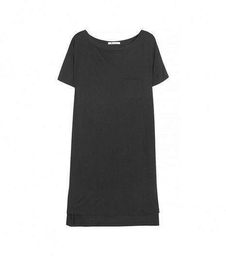 @Who What Wear - T by Alexander Wang Classic Jersey T-Shirt Dress ($105)