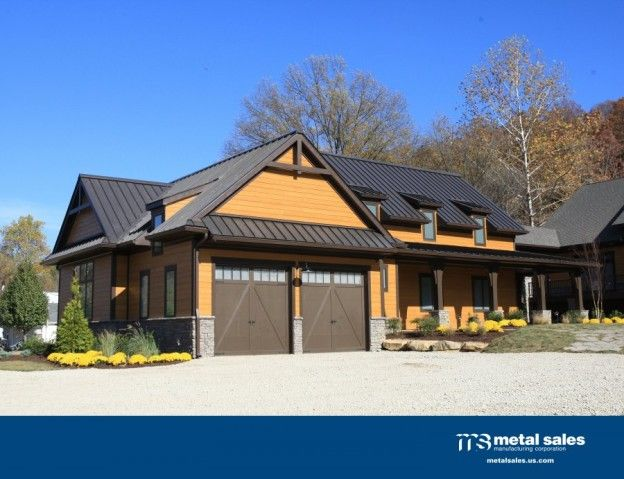 The Renassaince Roof Residential Metal Roofing Standing Seam Metal Roof Black Metal Roof