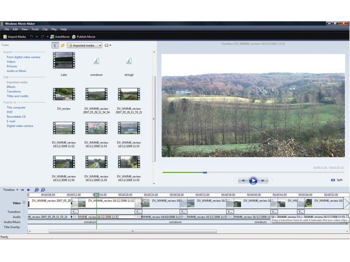 Microsoft Windows Movie Maker Hd Review Windows Movie Maker Microsoft Windows Microsoft