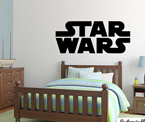 Star Wars Wall Decal Vinyl Sticker for Kids Playroom, Bedroom, School Classroom, Birthday Party >>> Continue to the product at the image link.