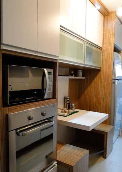 Pin De Silvana Figueiras Chaves Em Cozinha Apartamentos Pequenos
