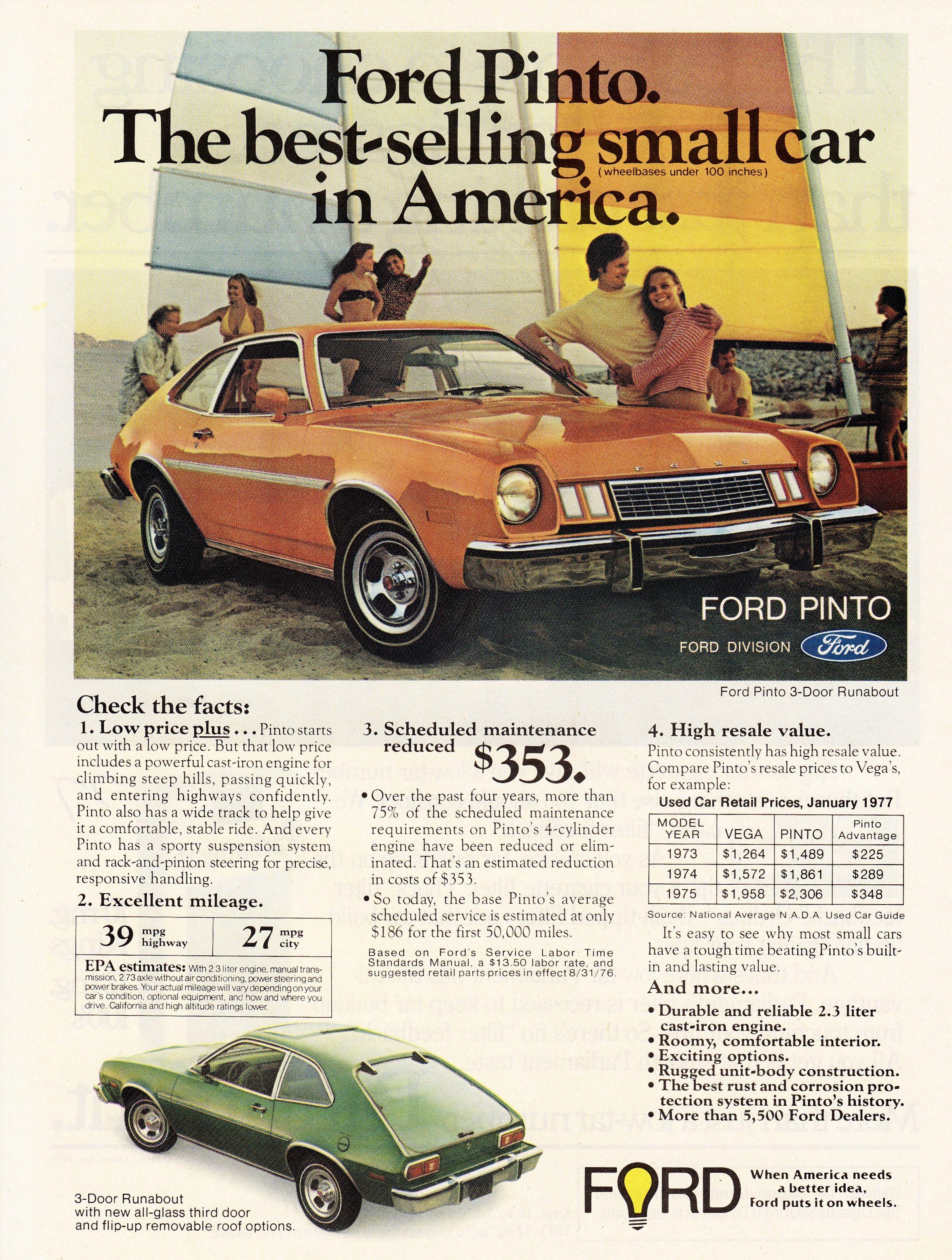 medium resolution of 1977 ford pinto